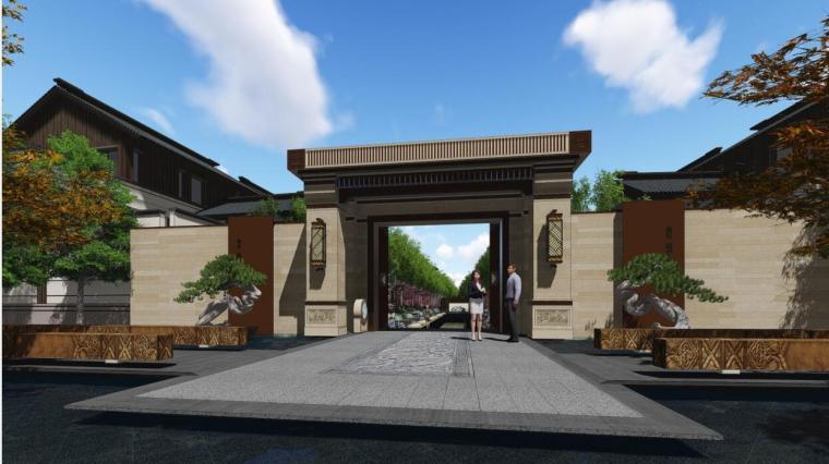 [上海]经典新亚洲风格伯爵公馆景观案例文本_3