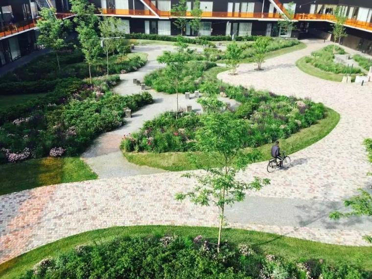 荷兰疗养中心的多功能生态花园