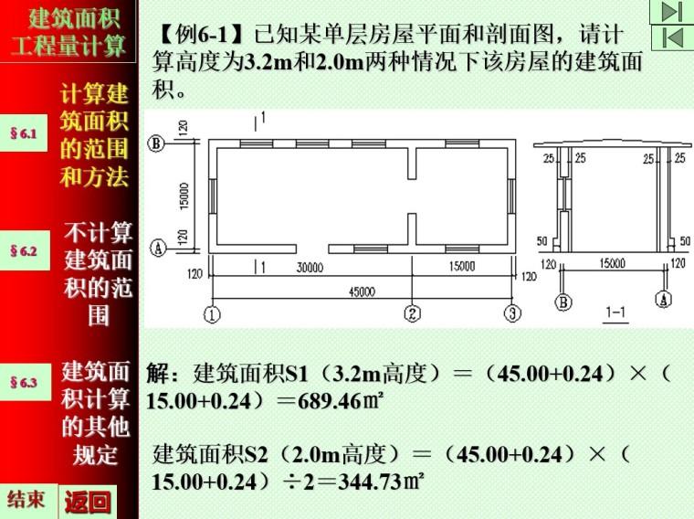 3、计算建筑面积的范围和方法实例
