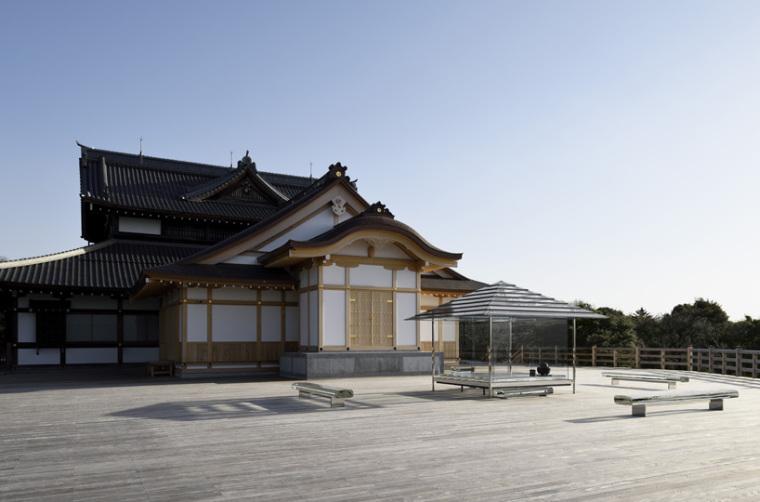 日本山顶玻璃茶馆_5