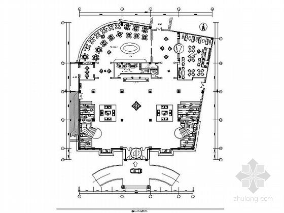 [江苏]农业示范园现代风格培训中心大堂公共区域施工图