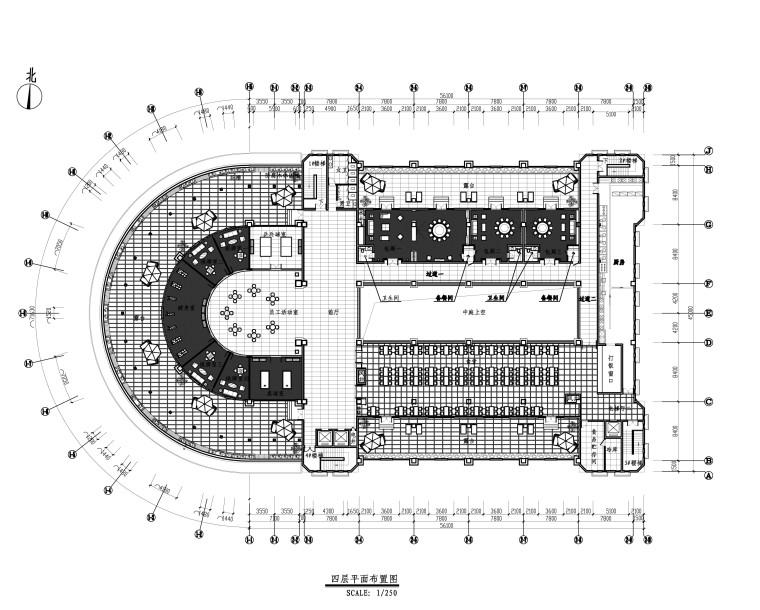 [山东]现代风格-豪德山东写字楼装修设计施工图(附效果图)