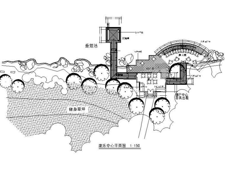 [四川]环湖小岛公园景观方案设计施工图