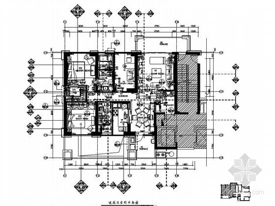 [厦门]古典风格四室两厅装修图(含效果)