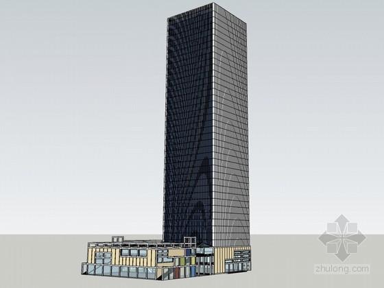 高层建筑SketchUp模型下载
