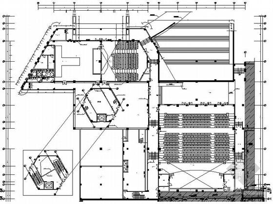 [青岛]少儿美术培训学校现代图书楼装修施工图