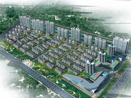 [江苏]大型住宅区规划及单体设计方案文本