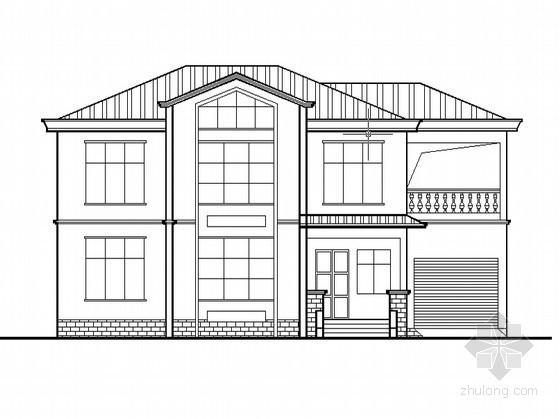 某二层简约风格农村别墅设计方案