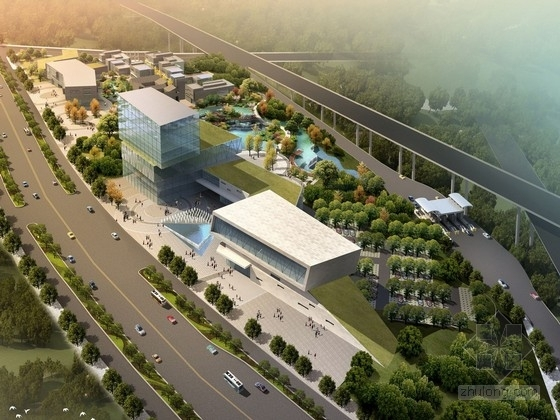 [西安]现代化休闲度假商业广场景观设计方案
