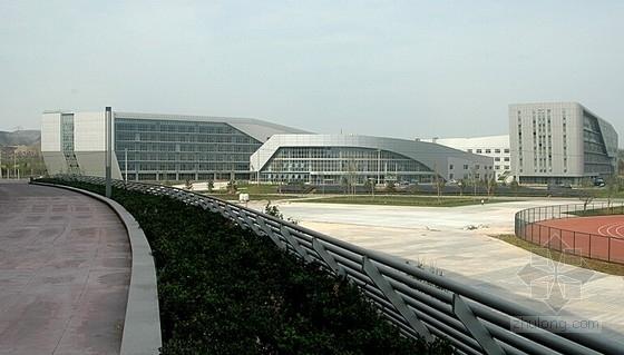 全运会教育科研基地建筑及结构施工图(科研教学楼 餐饮中心 运动员公寓)
