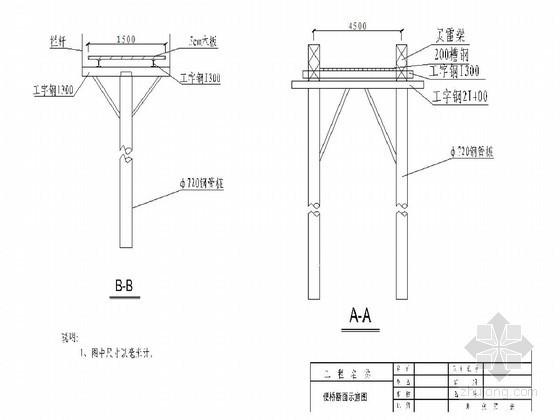 跨河大桥水中墩施工方案(单层钢板围堰 钻孔灌注桩)