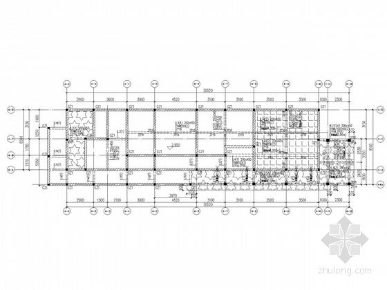 [广东]二层坡屋顶温泉酒店结构施工图