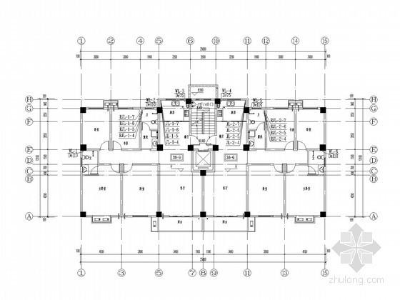 [福建]多层住宅楼建筑给排水施工图