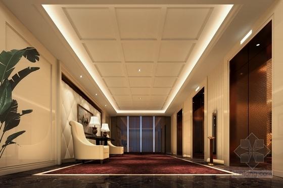 电梯厅效果图
