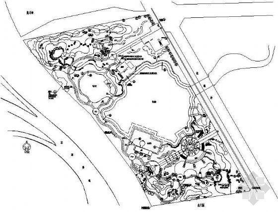 河北太阳湖公园景观施工图