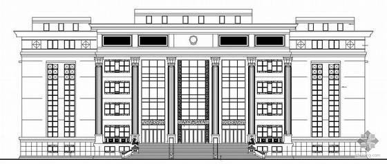 [马鞍山]某中级法院建筑结构施工图