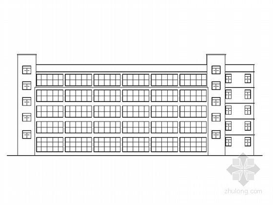 [永嘉县]某小学五层行政办公楼建筑施工图