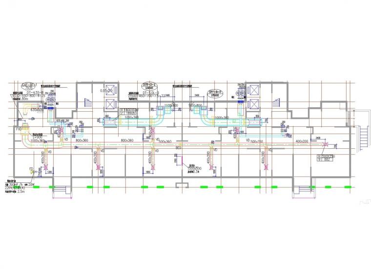 [河南]高层住宅小区采暖通风及防排烟系统设计施工图