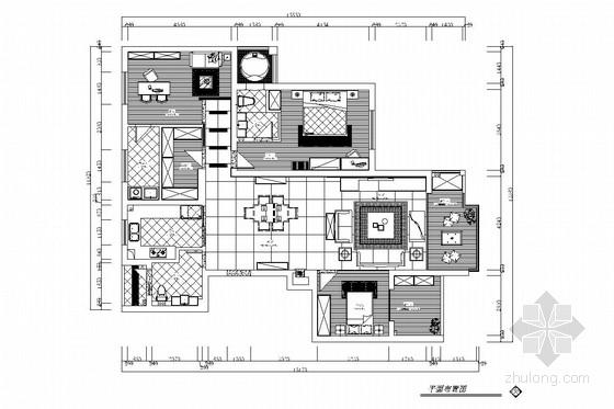 现代简约风格三居室装修图(含效果图)