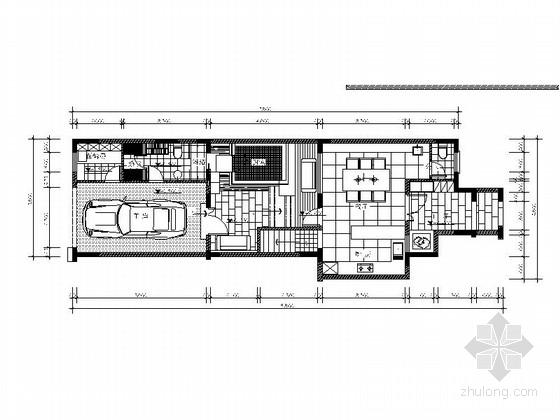 [南京]顶级设计师经典力作泰式风情四层别墅室内设计施工图