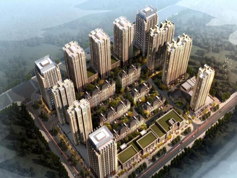 [浙江]10万平框架结构完整小区结构施工图(含普通住宅楼与别墅)
