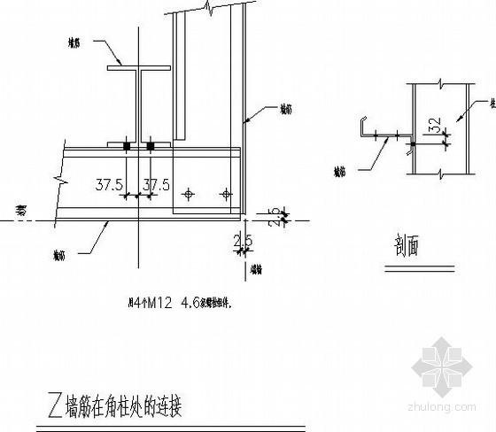 钢桁架结构楼承板节点构造详图