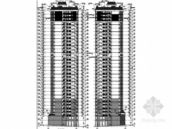32层剪力墙结构住宅楼建筑结构施工图(含计算文件)