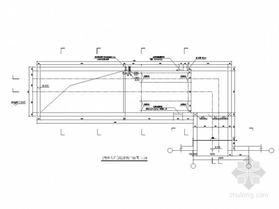 大连某地铁站出口结构施工图