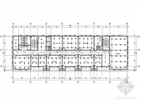 [安徽]大型八层办公楼全套电气施工图纸(知名设计院)