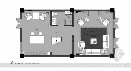 [天津]五层地中海风格别墅样板间软装方案