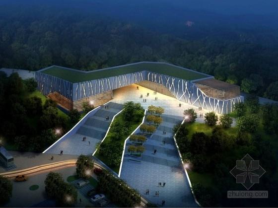 [山东]景区现代风格游客服务中心建筑设计方案文本(知名设计院)