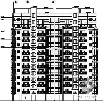 小高层建筑扩初图