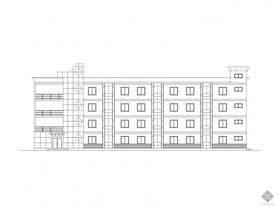 某小学宿舍建筑设计图