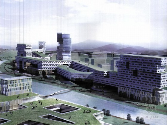 某科技大学规划及建筑设计方案文本(都市实践入围方案)