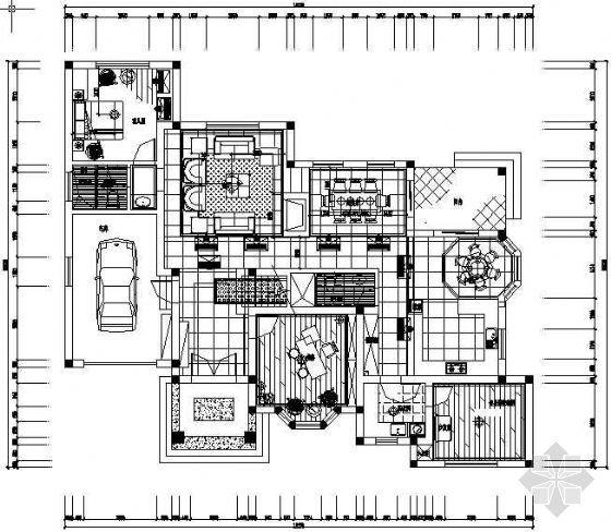 三层小别墅设计图纸包括:平面,剖立面,各个图片