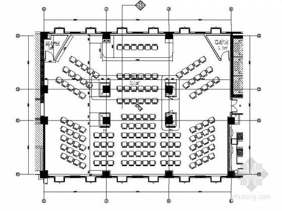 现代大报告厅室内装修设计图