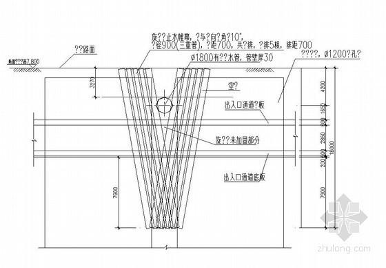 [广东]地铁车站围护结构特殊段工法图