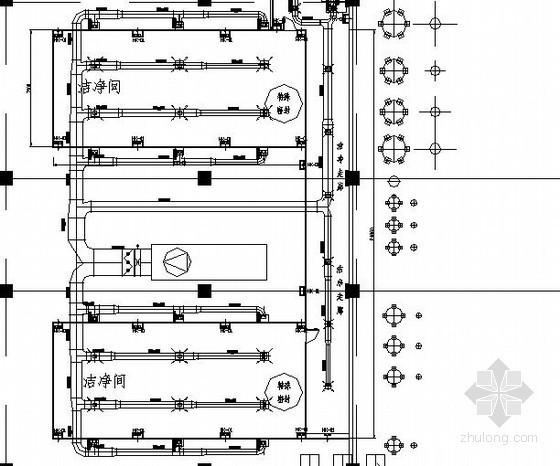 10万级药用淀粉车间净化工程通风空调设计