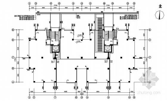 浙江某住宅小区五幢十二层楼给排水设计图