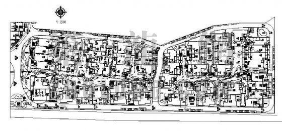 某别墅区规划平面图