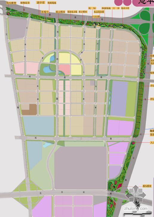 乌鲁木齐开发区外围景观规划方案全套