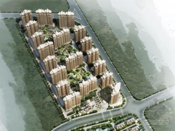 [长沙]某欧式住宅区规划及单体设计方案文本