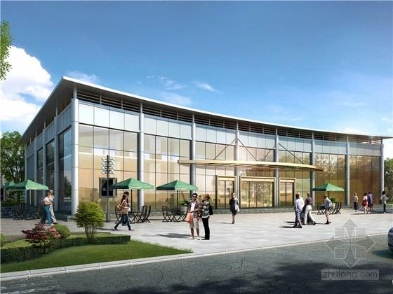 [江西]现代风格国际汽车城销售中心规划设计方案文本