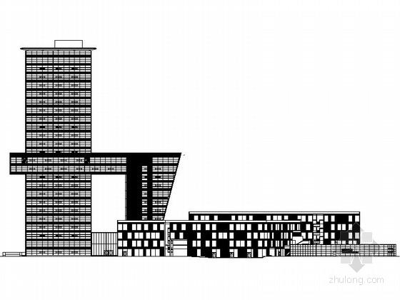 [上海]某99米商业综合体建筑施工图(日本知名设计师)