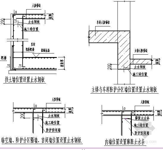 [天津]住宅小区地下车库及人防工程施工方案