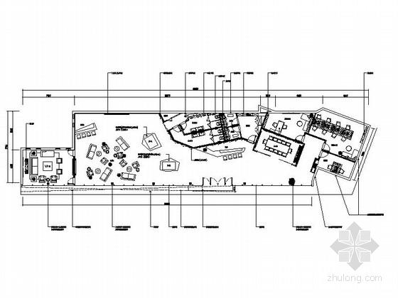 [四川]某展示中心办公室室内装修施工图