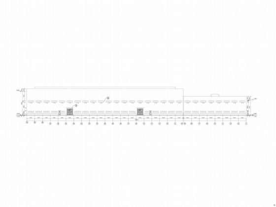 u型生产线布局图资料下载-某重型汽车发动机曲轴锻造生产线车间建筑施工图