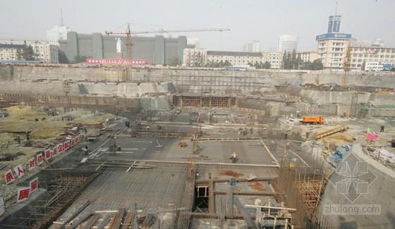 城市地铁车站深基坑施工监测方案设计研究