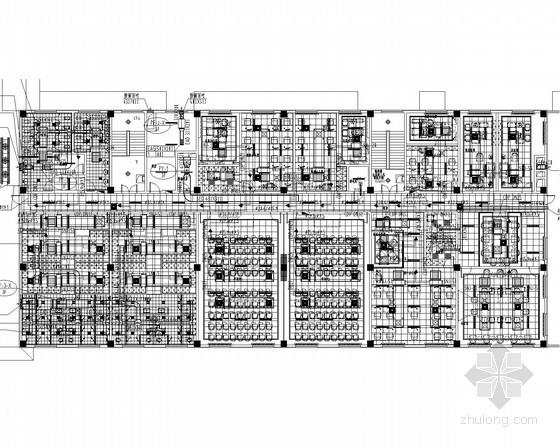 [辽宁]多层温泉酒店空调通风及防排烟系统设计施工图(VRV系统)