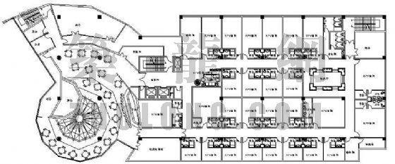 某地凯悦酒店平面设计方案